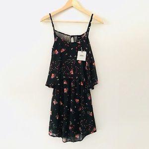 Asos open back floral dress 🌺